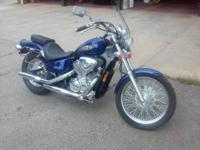 2003 Honda Shadow VLX 600 for sale. Runs absolutely