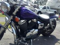 Needs nothing ready to go. Comes with sissy bar