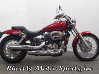 2003 Honda Shadow Spirit 750 with 5,094 Miles. I don't