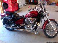 I HAVE A HONDA SHADOW VLX 600 FOR SALE I`M THE SECOUND