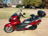 I am selling my 2003 Silverwing Scooter? so I can buy a