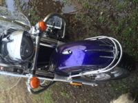 Beautiful 2003 Honda VTX 1300s, Illusion blue, 12k