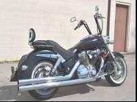 Fuel-injected 2003 Honda VTX 1800 S with only 9,500
