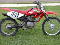 FOR SALE IS A 2003 HONDA XR100R DIRT BIKE. THIS BIKE IS