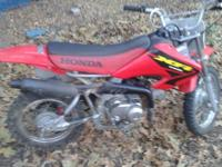 this 2003 Honda XR80 model is actually the last year