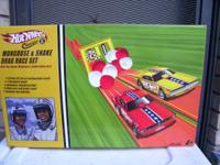 brand new 2003 vintage mongoose and snake race set. box