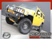 This 2003 Hummer H2 is one massive, piece of real