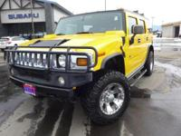 Options:  2003 Hummer H2 Base|Yellow|4.10 Rear Axle