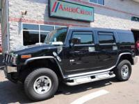 Legendary HUMMER all-terrain capabilities with all the