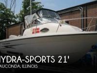 2003 Hydra-Sports 212 Walkaround - Stock #073554 -