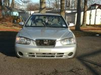 2003 Hyundai Elantra 4 Door Sedan One owner, 81,790