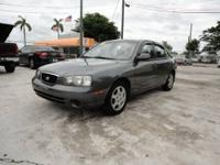 2003 HYUNDAI ELANTRA GLS WITH ONLY 66K MILES. 4 DOORS,