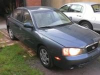 Automobile is a 4 Cylinder 2003 Hyundai Elantra GLS