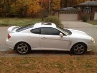 2003 Hyundai tiburon gt sports package. 2.7 liter v6.