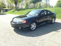 For sale is a 2003 Hyundai Tiburon GT V6 with only