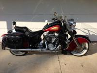 This auction is for a 2003 Indian Chief. This bike is