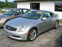 Inspect out this stunning Infiniti G35 Coupe! This