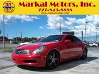 2003 Infiniti G35 Coupe... Check out the 20's and the