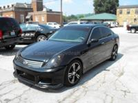 2003 Infiniti G35 Sport Sedan with Leather SEDAN 4-DR,