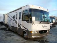 2003 INFINITY MODEL 35F MOTORHOME FOR SALE. THIS UNIT