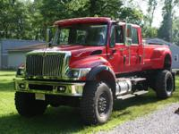 2003 INTERNATIONAL 7300 4X4 CXT PROTOTYPE. THIS WAS THE