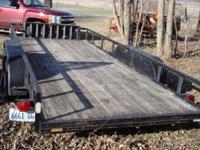 2003 Jamar utility trailer-car hauler 3000 lbs. 4