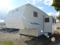 Front Bedroom, Back Bunks: Slideout, Air, Awning,