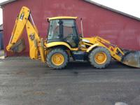 2003 JCB 214S 214S Backhoe Loader 2003 JCB 214S Backhoe