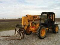 very good condition, only 2600 hours, 36ft reach, 6000