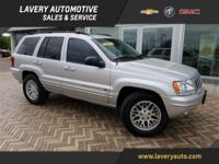 2003 Jeep Grand Cherokee Limited in Bright Silver