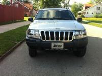 2003 JEEP GRAND CHEROKEE FEATURES FOUR WHEEL DRIVE,