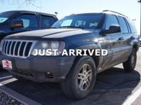 Graphite Metallic Clearcoat 2003 Jeep Grand Cherokee