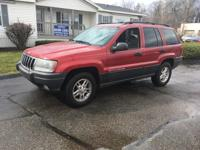 Options:  2003 Jeep Grand Cherokee Laredo 4Dr 4Wd