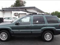 Options Included: N/A2003 JEEP GRAND CHEREKEE LIMITED