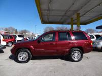 Is this dk. red 2003 Grand Cherokee Limited the one for