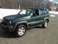 HERE IS A 2003 JEEP LIBERTY 132707 MILES LOADED WITH