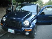 Hello! I'm selling my 2003 Jeep Liberty Limited 4x4 in