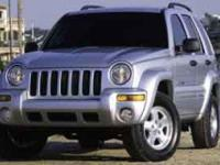 Come see this 2003 Jeep Liberty Limited. Its Automatic