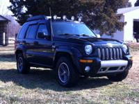 2003 Jeep liberty renegade sport loaded trail rated.