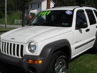 Clean 4WD Jeep Liberty well maintained and new