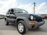 This 2003 Jeep Liberty 4dr Sport 4x4 SUV features a