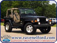 Options Included: 2003 Jeep Wrangler Tj Sahara 4x4 **