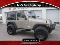 Options:  2003 Jeep Wrangler Clean Jeep Wrangler Sahara