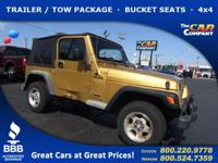 Used 2003 Jeep Wrangler,  DESIRABLE FEATURES:  a