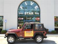 Options Included: N/AThis 2003 Jeep Wrangler is offered