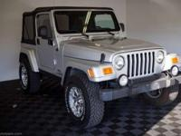 Clean 2003 Jeep Wrangler X drives good and has an