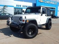 this 2003 wrangler is one of the most dependable jeeps