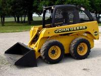 2003 John Deer Skid Steer 240 w/trailer Like New
