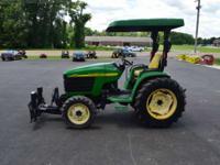 2003 John Deere 4310 4WD Compact Tractor (32 hp) JOHN