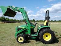 This listing is for a John Deere 4310 4x4 compact